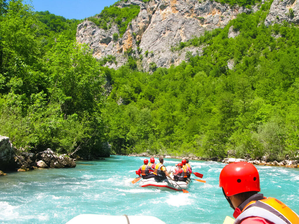 Whitewater Rafting Excursions